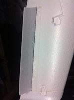 Name: Elevon2.jpg Views: 539 Size: 77.7 KB Description: I used fiber duct-tape to re hinge the surface.