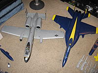 Name: IMG_1870.jpg Views: 85 Size: 286.2 KB Description: Set it next to my A-10 for size comparison.
