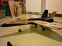 Name: RCM-F18- 391.jpg Views: 140 Size: 57.3 KB Description: First plan build. Mike Pastro's F-18 pusher from RCM plans. Hope to  have this in the air this year finally. Needed my flying skills to improve.