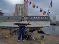 Name: balto 018.jpg Views: 126 Size: 77.8 KB Description: The model TAMAROA meets the real TAMAROA.