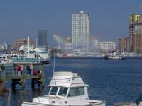 Name: balto 046.jpg Views: 99 Size: 79.6 KB Description: Baltimore FD fireboat putting on a show.