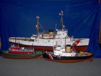 Name: fleet 012.jpg Views: 710 Size: 43.5 KB Description: MY 1:48 scale SSY fleet: USCGC TAMAROA (WMEC 166) - ATF hull; tug HELEN MORAN -tug INTENT semi kit: & USCGC ILLINI.