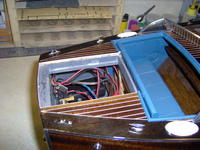 Name: Dodge 332.jpg Views: 336 Size: 105.8 KB Description: Rudder compartmemnt has lots of wires tucked inside.