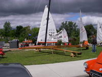 Name: tbs 016.jpg Views: 138 Size: 101.9 KB Description: Some of the iceboat fleet waiting for hard water.
