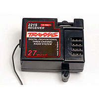 Name: TRA2215-450.jpg Views: 150 Size: 87.3 KB Description: One of the Traxxas rx's.  Black or brown wire on the servo goes to the right or outboard side.