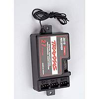 Name: TRA2019-450.jpg Views: 114 Size: 45.7 KB Description: Another style of Traxxas rx.  On this unit, the black or brown wire goes to the left.