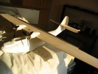 Name: IMG_3054.jpg Views: 415 Size: 55.0 KB Description: PBY Cat as is with new vario props. Also from this picture you can see that I've replaced the kit supplied PBY 6A version of the rudder and made a PBY 5 version rudder instead. The real PBY 5 saw a lot more service than the PBY6 in WW2 so thats the o