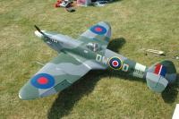 "Name: 40.jpg Views: 364 Size: 141.2 KB Description: Bob's Spitfire. YT-international electric conversion. 80"" ws 15 bls AUW"