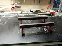 Name: 2012-07-19 06.42.48.jpg Views: 92 Size: 212.5 KB Description: Finnished stand- mahogany stain and 3 coats of clear varnish