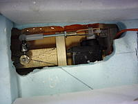 Name: P1010354.jpg Views: 43 Size: 153.7 KB Description: After it dries I will lay in a sub floor to place the battery on and re check the CG.