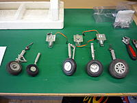 Name: P1010672.jpg Views: 201 Size: 173.1 KB Description: The Landers are smaller than the stock tires and wheels. I might be able to purchase new larger wheels to mount on the Lander struts.