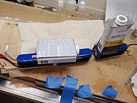 Name: P4230253.jpg Views: 59 Size: 204.1 KB Description: Second layer of tow weighted down to follow top curve