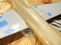 Name: PA190480.jpg Views: 72 Size: 146.1 KB Description: Saran wrap waiting for final wing saddle matching