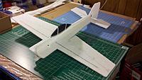 "Name: Yak_Airframe.jpg Views: 55 Size: 131.1 KB Description: Bare airframe, Yakzilla 32"""
