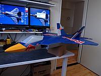 Name: DSC_0012.jpg Views: 85 Size: 160.6 KB Description: I'ts beginning a look like a 'Red Bull Raptor' !!!