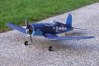 Name: 8-25-09-F4U-Corsair.jpg Views: 116 Size: 193.9 KB Description: How I got her. A member gave her to me for free for buying another item.
