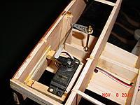 Name: 59 Orca project 6 Nov 2012.jpg Views: 249 Size: 216.6 KB Description: got the Futabo servo in.