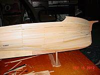 Name: 87 Orca project 15 Dec 2012.jpg Views: 223 Size: 195.4 KB Description: planking complete. :)