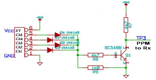 DIY Servo Signal (PWM) to PPM Converter - RC Groups