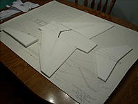 Name: 008.jpg Views: 310 Size: 151.4 KB Description: also had time to cut the forward fuse sides and the droop tail
