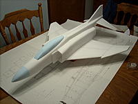 Name: 003.jpg Views: 431 Size: 155.5 KB Description: forward fuse and canopy sanded to shape
