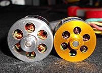 "Name: 02 - bottom.jpg Views: 108 Size: 310.1 KB Description: ""Bottom"" comparison Notice the darkening copper inside the WK motor."