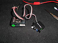 Name: DSCN1300.jpg Views: 85 Size: 300.5 KB Description: plug it in and set your rudder to neutral. Just to be sure it's in neutral position.