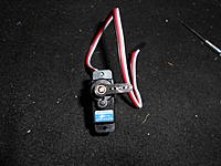 Name: DSCN1301.jpg Views: 100 Size: 204.2 KB Description: Install your servo horn as close to 90° as you can get it.