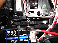 Name: DSCN1355.jpg Views: 74 Size: 285.6 KB Description: Once the main gear is installed. You can then lock the shaft in place with the locking collar.