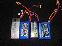 Name: DSCN1629.jpg Views: 527 Size: 259.4 KB Description: All of the candidates for trial and size comparison to the stock 4f200 battery.