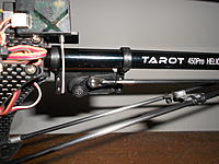 Name: DSCN4817.jpg Views: 79 Size: 177.5 KB Description: The Tarot linkages fit the stock rudder servo ball.