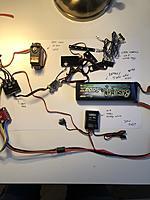 Name: 03DC7C07-7E9F-40E0-A6E3-2B054374B31D_1_105_c.jpeg Views: 138 Size: 169.8 KB Description: diff lock servo: DS 3120 22,3kg @ 6V 40,5x20,2x38mm (66,2g) battery: 5000mAh 50c 3S1P 140x23x40mm (303,5)