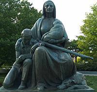 Name: Topeka_Kansas2.jpg Views: 96 Size: 209.7 KB Description: Pioneer Woman Statue Topeka KS