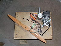 Name: DSCF1849.jpg Views: 30 Size: 242.5 KB Description: DLE 55, IBEF, Electronic ignition, and 22x10 bambula prop from Troy Built Models