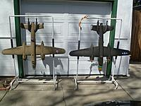 Name: P1020720.jpg Views: 269 Size: 210.8 KB Description: My handy racks to maximize room in my small garage!