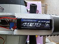 Name: P1040057.jpg Views: 249 Size: 441.8 KB Description: Fit check for 4S 4000 mah battery.