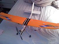 Name: 0417131846.jpg Views: 91 Size: 145.9 KB Description: made with dollar tree foam and a wing from a crashed plane.