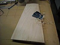 """Name: DSCN0368.JPG Views: 44 Size: 230.2 KB Description: Root rib and false rib in place, stab sheeted with 1/16"""" balsa. I'll cut off the elevator later on"""