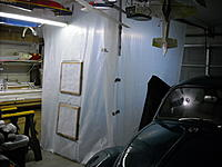 Name: DSCN0502.JPG Views: 20 Size: 231.4 KB Description: Here's my spray booth setup. Two filters for fresh air intake.  It's about 8' x 6'