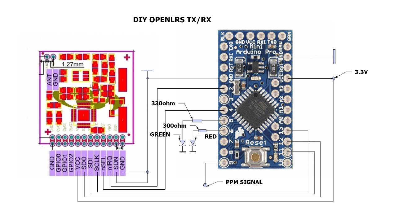 Momentary On Off Switch and LED over Arduino