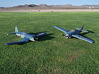 Name: DSCF1678.jpg Views: 327 Size: 320.9 KB Description: The differences are obvious....but both planes served their purposes well.