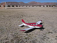 Name: DSCF3077.jpg Views: 126 Size: 317.7 KB Description: Looking good on the Ft. Irwin soccer field....plenty of room to fly this little wonder!