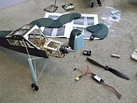 Name: DSCF4402.jpg Views: 496 Size: 189.2 KB Description: Landing gear on, now it's time to start getting the innards squared away...