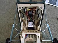 Name: DSCF4403.jpg Views: 469 Size: 147.7 KB Description: E-flite 30A ESC Velcro'd in postion.