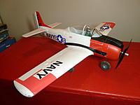 Name: P1060507.jpg Views: 90 Size: 151.2 KB Description: Parkzone Trojan T-28 - My first plane!  Thanks Wifey!