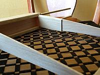 Name: 048.jpg Views: 212 Size: 249.9 KB Description: I broke the end rib with some over enthusiastic sanding som got some balsa cement glued it back together and reinforced it with a little balsa.
