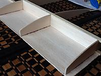 Name: 045.jpg Views: 210 Size: 210.6 KB Description: here's the second wing coming along, made the same mistake as the first by having the shear web grain the wrong way round.