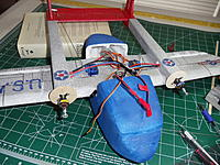 Name: DSC01312.jpg Views: 91 Size: 306.6 KB Description: Motors mounted. Now for the speed controllers.