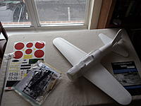 Name: DSC01464.jpg Views: 129 Size: 176.1 KB Description: GWS A6M2 kit destined to become a A6M2-N Rufe