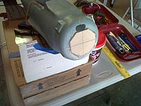 Name: IMG-20121019-00412.jpg Views: 218 Size: 213.3 KB Description: Bashing the GWS Zero into a Rufe